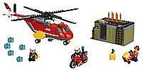 LEGO CITY Город Пожарная команда быстрого реагирования Fire Response Unit 60108, фото 1