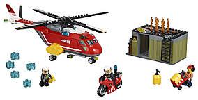 LEGO CITY Город Пожарная команда быстрого реагирования Fire Response Unit 60108