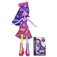 My Little Pony Девочки Эквестрии Твайлайт Спарклиз серии Радужный рок  Equestria Girls Twilight Sparkle Doll