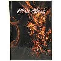 Тетрадь по хорошей цене,  большая, клетка, 80 листов, формат А4, твердая политурка, HD - 2921