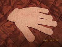 Перчатка отшелушивающая мочалка для пилинга от ив роше розовый цвет, фото 1