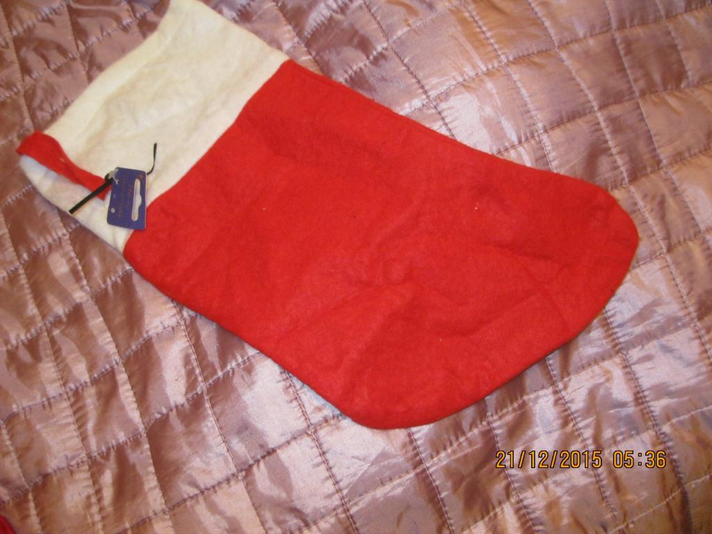 Красный чехол дек носок для подарка НОВЫЙ ГОД рождество Николая игрушка
