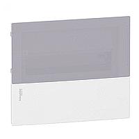 Щит пластиковый MINI PRAGMA MIP22112T встроенный, 12мод., дымчатая дверь 1ряд