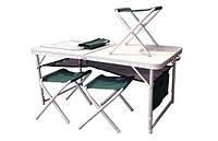 Стол и стулья для пикника Ranger Скаут (TA 21407+FS21124)