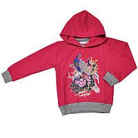 Джемпер с капюшоном детский для девочки, фото 1
