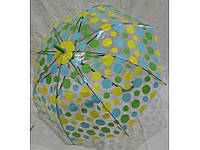 Зонт трость в горх, прозрачный