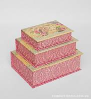 """Набор подарочных коробок из 3 шт. """"Книга"""" WE-13"""