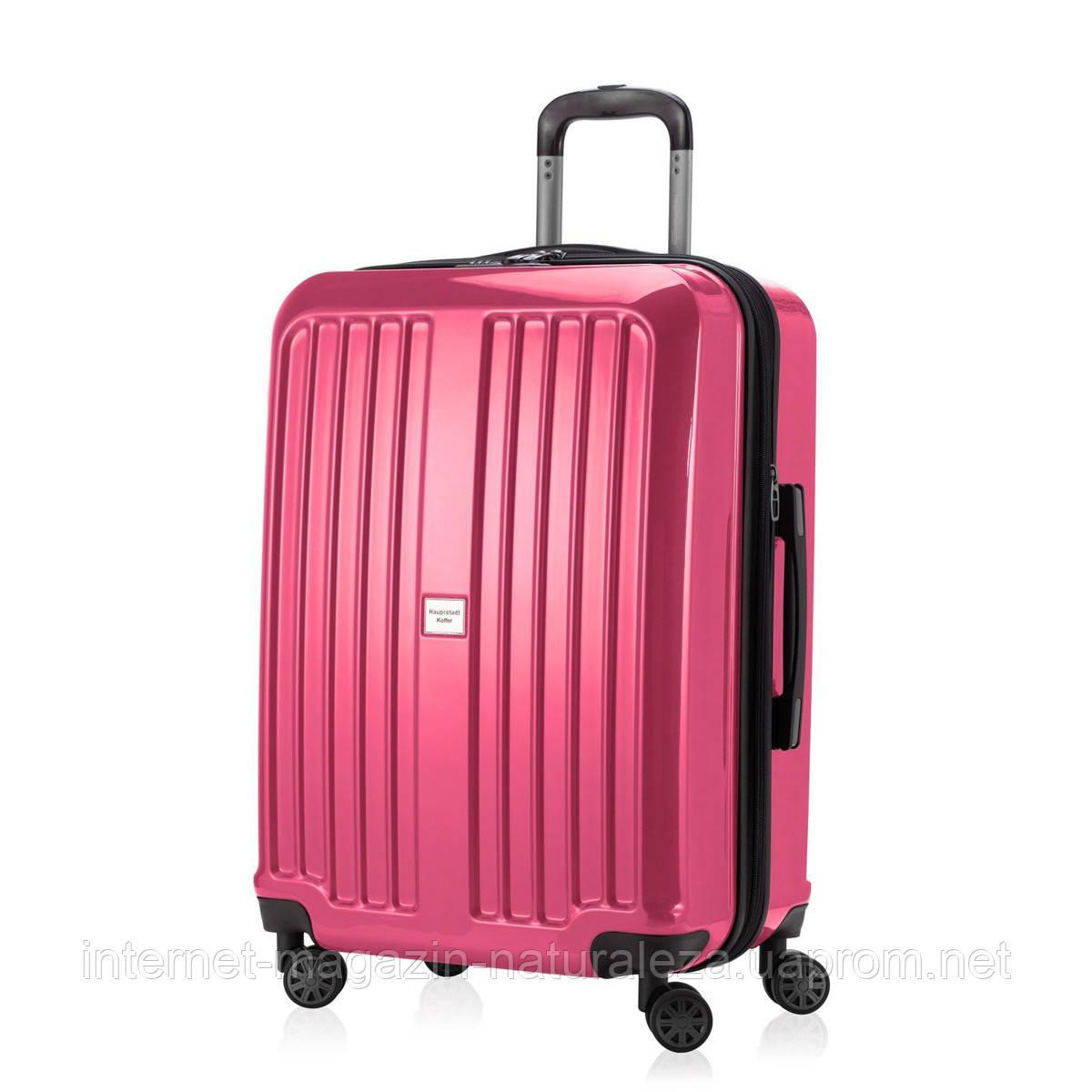 Валіза Hauptstadtkoffer Xbegr Midi рожевий