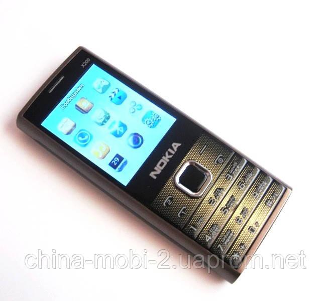 Копия Nokia X200 - dual sim, brown