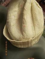 MARK&SPENSER шапка женская бело-молочная