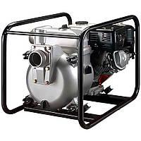 Мотопомпа бензиновая KOSHIN KTH-100 X для грязной воды (9.7 л.с., 1600 л/мин)
