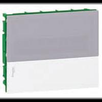 Щит пластиковый MINI PRAGMA MIP22118T встроенный, 18мод., дымчатая дверь 1ряд