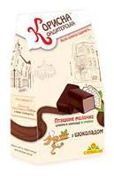 """Шоколадные конфеты """"Птичье молоко с шоколадом"""""""