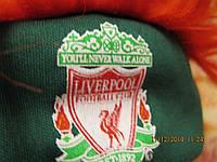 Футбольному фанату повязка шапка прикол клуб LIVERPOOL ливерпуль красная