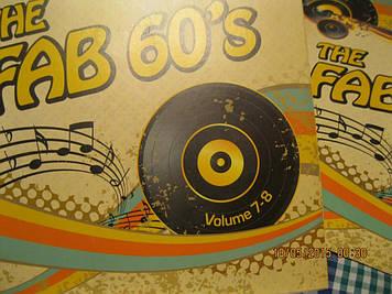 МУЗЫКА 60-е 8диск из британии лицензия the FAB 60s