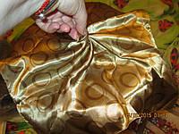 Новый золотой платок косынка горох небольшой шик!