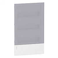 Щит пластиковый MINI PRAGMA MIP22312T встроенный, 36мод., дымчатая дверь 3ряд