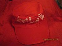 THOMSON кепка красная интересная 9-12 лет