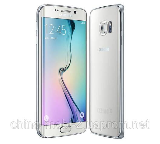 Смартфон Samsung Galaxy S6 Edge 32GB G925F White Pearl, фото 2