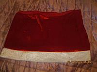 Новый год юбка стрейч снегурочка игровой костюм
