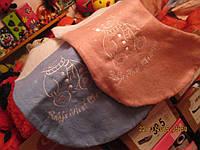 набор=2 носка сувенирных розовый и голубой  подарок сувенир мишка новогодние 40 см