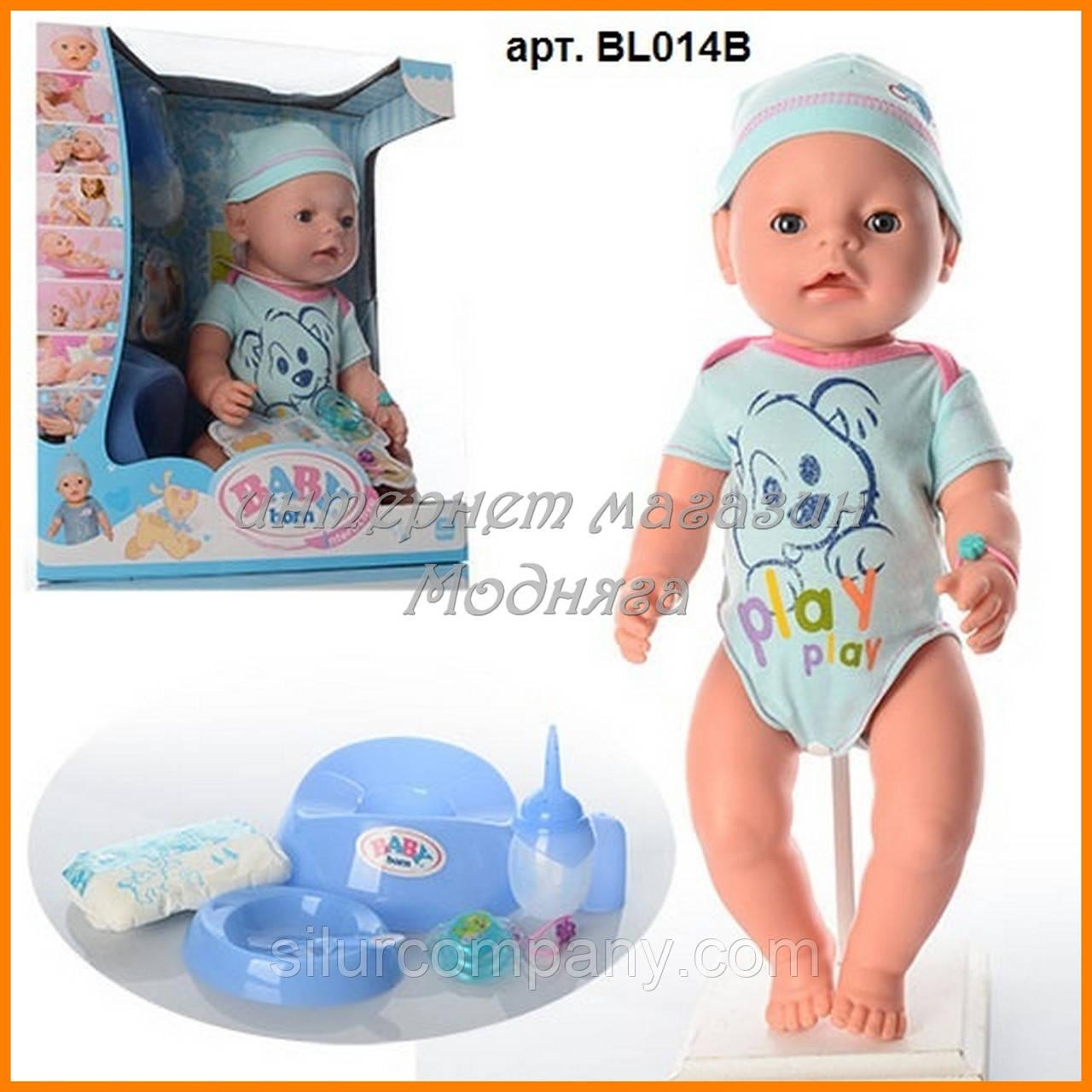 dddd4a5c4704 Пупс кукла Baby Born Беби Борн BL014B-S Малятко немовлятко новорожденный с  аксессуарами