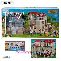 Загородный домик для Зайчиков  Happy Family аналог Sylvanian Families 012-10