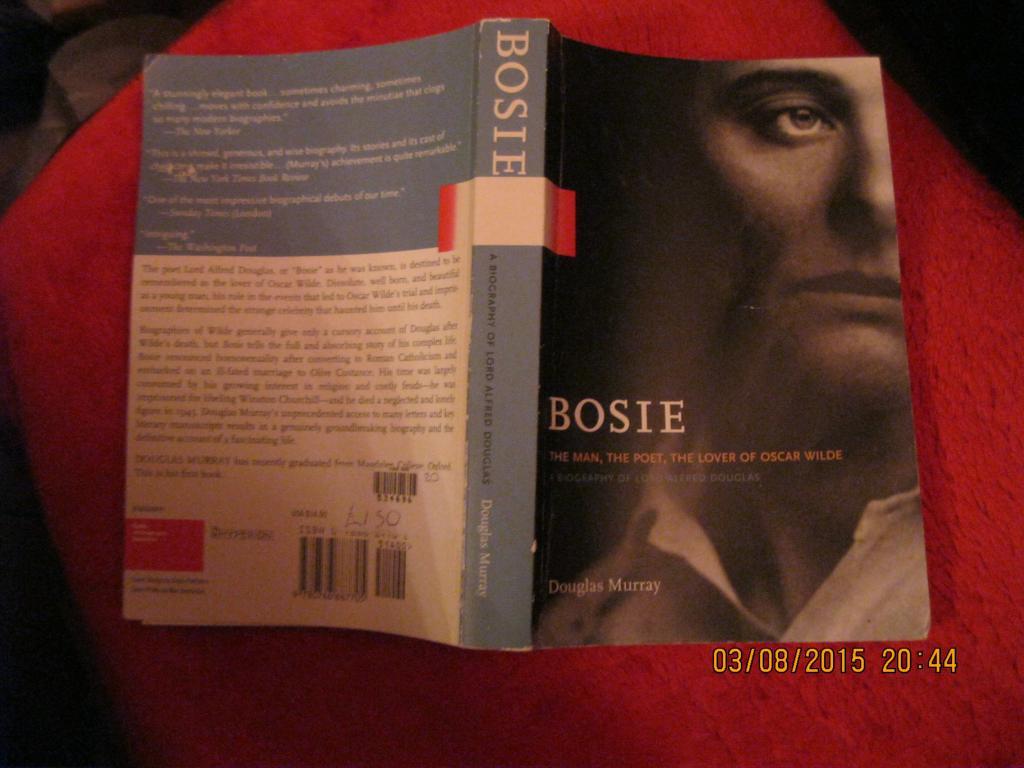 BOSIE книга на англійській мові з США
