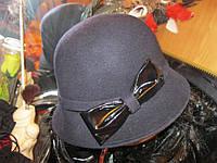 шляпа шляпка ЖЕНСКАЯ крутая синяя фетр фирма  Marks Spencer