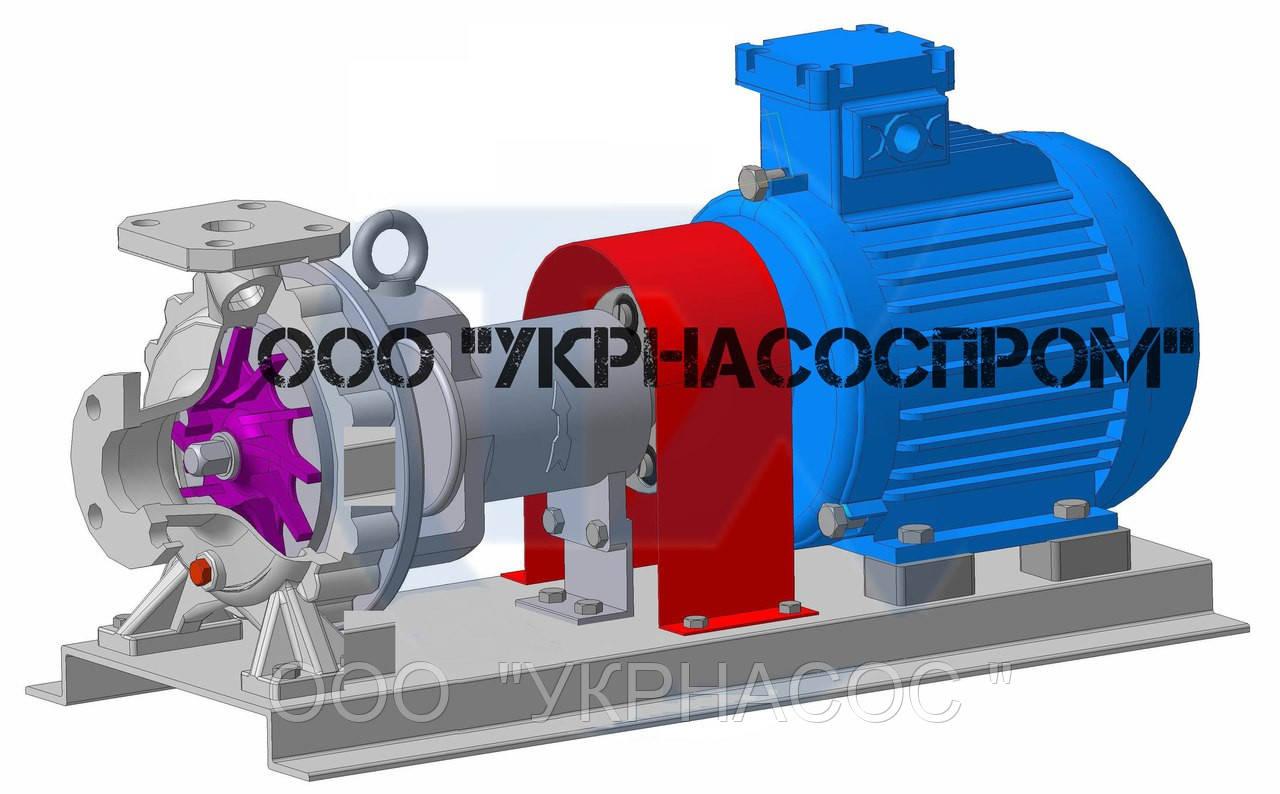 Насос АХ 125-100-400-Л
