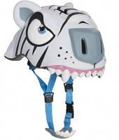 Защитный шлем CRAZY SAFETY White Tiger (прорезиненный)