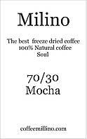 Кофе растворимый с зерновым 70/30 Мокко