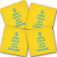 """Подставка под горячее """"Украина"""" (4 одинаковых) (10 фото)"""
