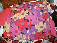 Летняя новая цветная юбка котон 18 52 XL супер шик
