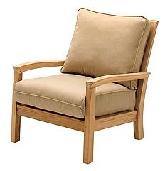 Кресло из дерева 003