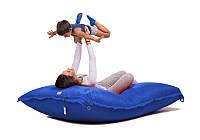 Мат подушка (125*140) Оксфорд/Синяя/Основной чехол