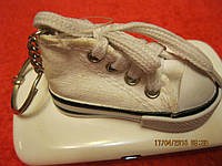Брелок коллекция кед  ФИРМЕННЫЙ обувь кедик белый