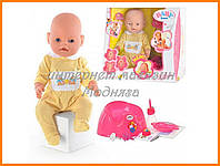 Кукла с аксессуарами Беби Борн BB 8001-2 (Лето) Маленькая Ляля