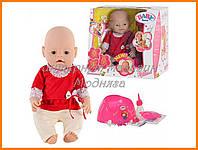 Новорожденная кукла Baby Born Бейби Борн BB 8001-5 (Лето) Маленькая Ляля