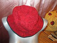 Шерсть красная шляпа панама шапка ГВАТЕМАЛА 57-58р