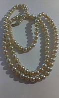 Старинные бусы под жемчуг ожерелье красиво длинные