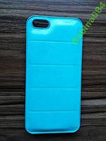 БИРЮЗА Стильный Кожаный Чехол для iPhone 5/5s