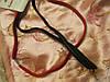 Повязка красная черная новая обруч резинка набор из двух заколок, фото 2
