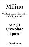 Кофе растворимый с зерновым 70/30 Шоколадный ликер