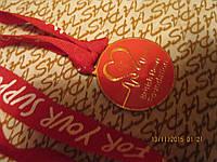 Медаль металлическая сувенир из британии здоровье красная
