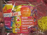 Резинки плетения браслетов+станок много!!!!набор