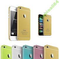GOLD наклейки, стикера для iPhone 5/5s