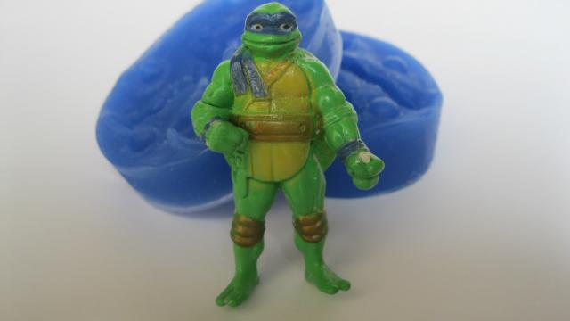 """Силиконовый 3D молд """"Черепашка Ниндзя"""" (код 02295)"""