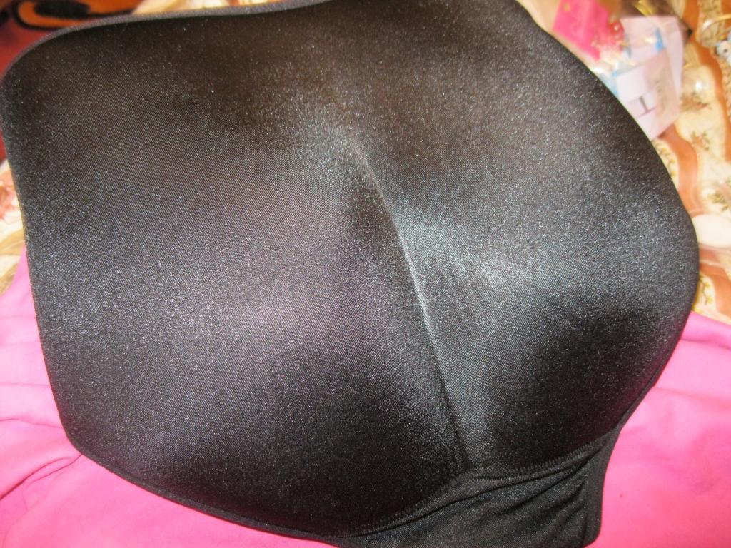 Трусы с попкой эластик КОРРЕКЦИЯ попы XL черные увеличивают попу Трусы с накладной попой Пуш-ап