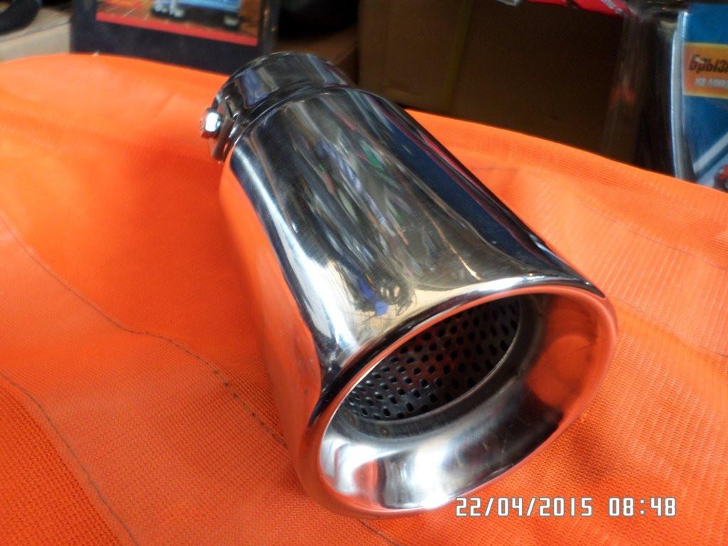 Насадка на глушитель НГ-0313 нержавейка